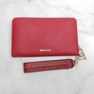 Rebecca minkoff wallet with wrist strap